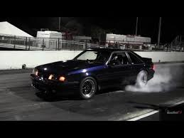 Black Fox Body Mustang Turbocharged Mustang Fox Body 9 60 146 Mph Drag Race Video