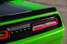 Dodge Challenger Tail Lights - dodge shaking things up in ny with special edition challenger 56