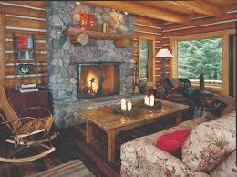 cozy log homes home interior design loversiq