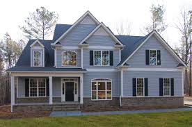 Custom Floor Plans For New Homes by Raleigh New Homes With Three Car Garage The Statesboro