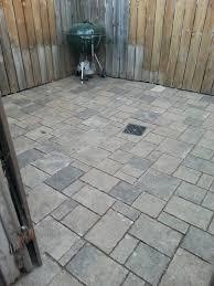 Install Patio Pavers by Custom Stoneworks U0026 Design Inc South Durham Street Patio In