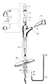 how to repair standard kitchen faucet 4114 100 standard kitchen faucets repair 1 dtavares com