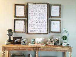 Amazing Entry Table Decor With Entry Table Decorating Ideas Pinterest