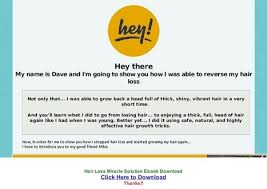 download hair loss ebook the ultimate hair rebuilding program pdf free d