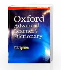 Oxford Dictionary Oxford Advanced Learners Dictionary By Oxford Dictionaries Buy