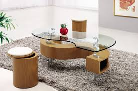 Coffee Table With Storage Ottomans Underneath Table Round Glass Coffee Table With Wood Base Patio Shed