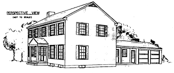house perspective with floor plan colonial house floor plan christmas ideas the latest