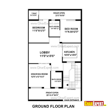 Home Design For 30x60 Plot House Plan For 30 Feet By 51 Feet Plot Plot Size 170 Square Yards