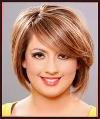 hairstyles for women with double chins cool short hairstyles for round faces with double chin portrait