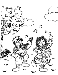 holly hobbie coloring pages raggedy ann coloring pages raggedy andy colouring pages