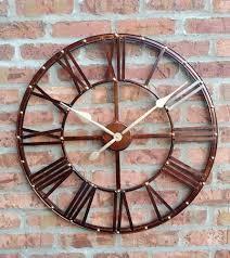 large metal wall clock u2013 philogic co