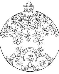christmas ornaments christmas ornament coloring pages christmas