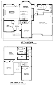 cool two story house floor plans