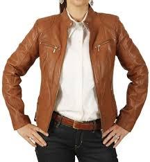 light brown leather jacket womens ladies fashion leather jackets simons leather
