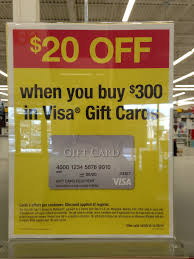 gift card discounts 20 300 in visa gift cards at office max limit 2 discounts