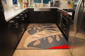 Modern Kitchen Rugs Linoleum Rugs Modern Kitchen San Francisco By Crogan Inlay