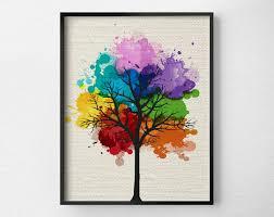 modern art for home decor tree wall art modern home decor tree print modern art