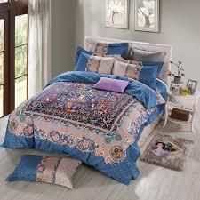 Bohemian Style Comforters Comforter Sets King White Tokida For