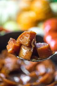 candied sweet potatoes go go go gourmet