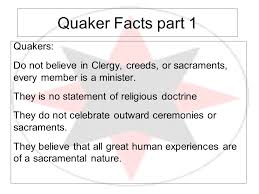 quakers understanding the religious society of friends ppt