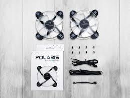 120mm rgb case fan case fan 120mm twin pack polaris rgb x2 in win varle lt