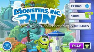 monsters run free game apk