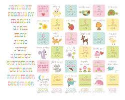 baby 1st year book baby s year calendar happi baby girl