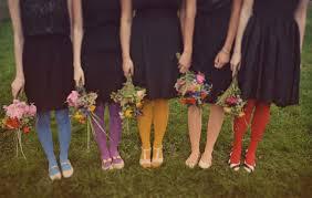 rainbows bridesmaids u003d fabulosity sandals wedding blog
