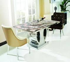 comfy tufted chairs beside fascinating marble top table as quality