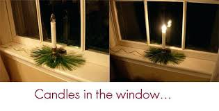 electric candle lights for windows electric christmas window candles cozy design candle lights for