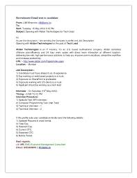 How To Send A Resume Online by How To Send A Resume Template Billybullock Us