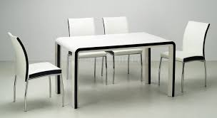 Contemporary White Dining Room Sets - dining room best modern dining table for high class furniture