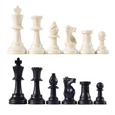 amazon com heavy tournament triple weighted chess pieces with 3 3