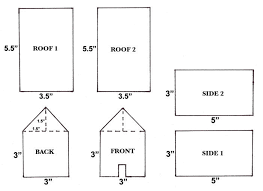 pattern for large gingerbread house how to create gingerbread houses