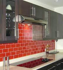 houzz red kitchen backsplash ideas glass tile pictures