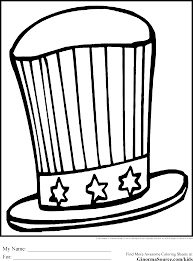 4th of july coloring pages ginormasource kids