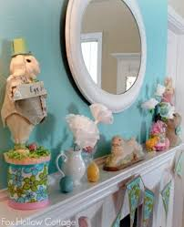 Easter Fireplace Mantel Decorations by 32 Stylish Deco Ideas For Easter U2013 Adorn The Mantel Interior
