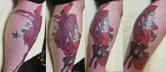 ruby rose tattoo done by jarid marcs 315 wilkes barre pa tattoos