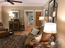 benjamin lenox tan in farmhouse country style living room
