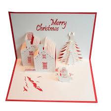 Merry Birthday Card 2017 New B Merry Christmas 3d Cards Wedding Lover Happy Birthday