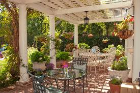 beautiful small patio garden ideas