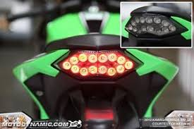 ninja 300 integrated tail light 2013 2017 kawasaki ninja 300 sequential signal led tail light smoke