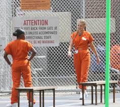Orange Prison Jumpsuit Halloween Costume Blake Lively Wears Orange Prison Separates