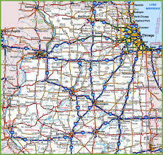 Chicago Printable Map by Map Of Northern Illinois