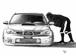 subaru cars black stanced car drawing 600 whp subaru sti by vitalik mr lickk
