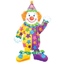 clown balloon l juggles the clown air walker foil balloon party supplies