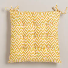 Chevron Armchair Yellow Chevron Chair Cushion World Market
