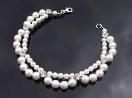 swarovski bracelet with pearls images Swarovski pearl sparkling rhinestone bracelet lia jules jpg