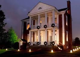 Georgia House Three Civil War Era Homes In North Georgia Open For Candlelight