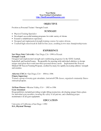 lpn resume objective personal trainer resume objective statement free resume example sample resume personal trainer resume objective on by